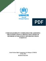 UNHCR Report on Minorities in Pakistan 2012