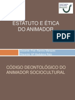 Estatuto Do Animador Cultural