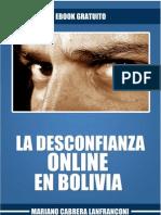 La Desconfianza Online en Bolivia - Mariano Cabrera L.