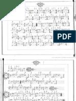 Gigue d'Amadis - Lully - Recueil d'airs de guitare (baroque) - Noir et blanc - Bibliothèque nationale de France, département Musique, RES F-844