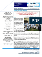 The Eliminate Project - Canada and Caribbean Newsletter - Jan/Feb