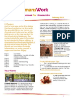 WomansWork - The Notebook For Lincolnshire Feb 2013