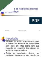 Formação de Auditores Internos