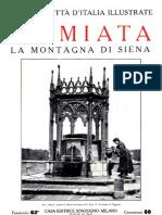 L'Amiata, la montagna di Siena