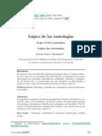 Dialnet-LogicaDeLasTautologias-4109623
