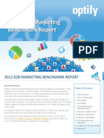 Marketing Benchmark Report Optify