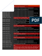 Grandview Schedule 2013