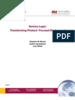 Service Logic Paper