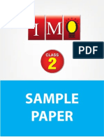 class-2-imo-4-years-sample-paper pdf | Mathematics | Science