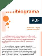 Antibiograma prezentare
