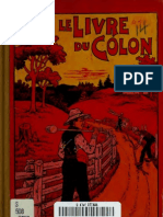 Le Livre Du Colon Re 00 Mont