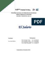 Monografia Del Salario