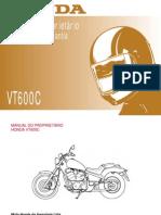 Honda VT600C - Manual Do Proprietário