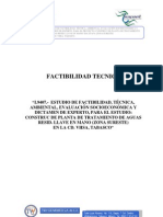 FACTIBILIDAD TECNICA Planta de Tratamiento Sureste.pdf