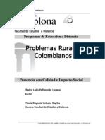Los Problemas Rurales Colombianos