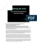 Artists and Archivists