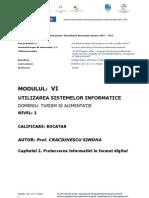 Prelucrarea informatiei in format digital