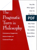 113221183 Egginton Sandbothe Pragmatic Turn in Philosophy