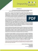 Comunicado de Prensa 01_2013
