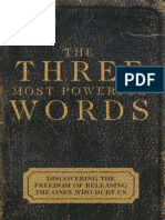 108478700 the Three Most Powerful Words by Derek Prince