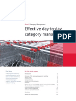Effective day to day category management