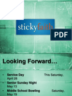 Lesson 5- A Sticky Youth Group (slides)
