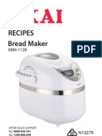 Xbm1128+Bread+Maker+Akai Recipes
