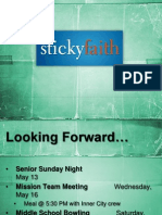 Lesson 8- Sticky Seniors (slides)