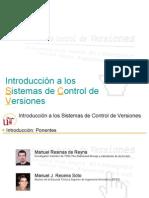 Introducción a los sistemas de control de versiones