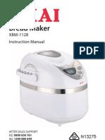 XBM1128 Bread Maker AKAI Instruction Manual.pdf