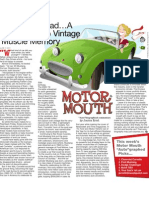 Weekly Motor Mouth column
