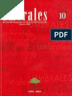 Revista Umbrales10. Revista Del Postgrado en Ciencias Del Desarrollo CIDES UMSA.la Paz Bolivia