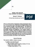 Israel and Amalek