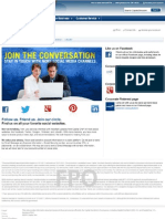 Social Media Landing Pages - Capital One