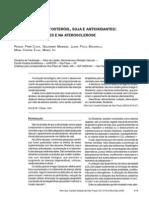 Oleo de Peixe Fitoesterois Soja e Antioxidantes Impacto Nos Lipidios e Na Aterosclerose