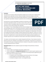 U-08 Responsibility Accounting & Financial Measures Section B