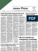 Kadoka Press, January 31, 2013