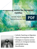 Promoting Justice for Immigrant Families through Strength Based Practices