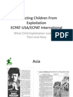 Programs and Policy Combating Human Trafficking in the U.S.
