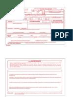 Formato Imss Afil 03 Modificacion de Salario