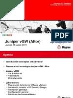 Magirus - Juniper vGW 201106