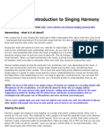 Introduction to Singing Harmony.doc