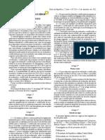Decreto Lei 258 a 2012
