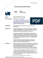 EASA Safety Information Bulletin 2013-02