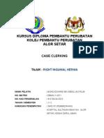 Case Clerking Hernia