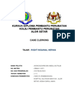 Case Clerking Hernia