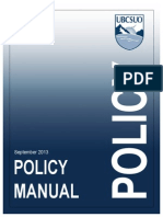 UBCSUO Policy Manual