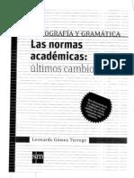 Prof. a. Vazquez (Las Normas Academicas)