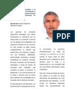 TRABAJO_La Gerencia de Mercadeo y la Generación de Nuevos Productos y Servicios frente a la actual escasez de Productos y Servicios en Venezuela