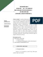 DETERMINAREA  IONILOR I- ŞI Cl- ÎN AMESTEC PRIN TITRARE POTENTIOMETRICĂ  DE PRECIPITARE (TITRAREA ARGENTOMETRICĂ)